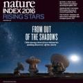 """Wakacyjne wydanie magazynu """"Nature""""  z raportem """"Nature Index 2016 Rising Stars""""."""